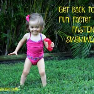 Get back to the fun faster with Fasten swimwear!