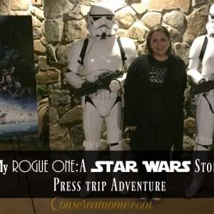 My Rogue One:A Star Wars Story Press trip Adventure