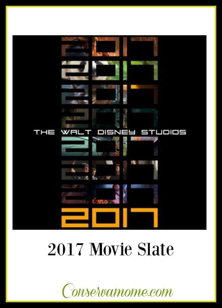 Walt Disney Studios Motion Pictures 2017 Movie Slate