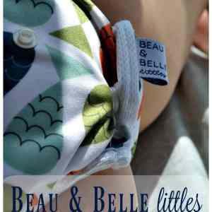 Beau & Belle Littles Swim Diaper Review + Giveaway
