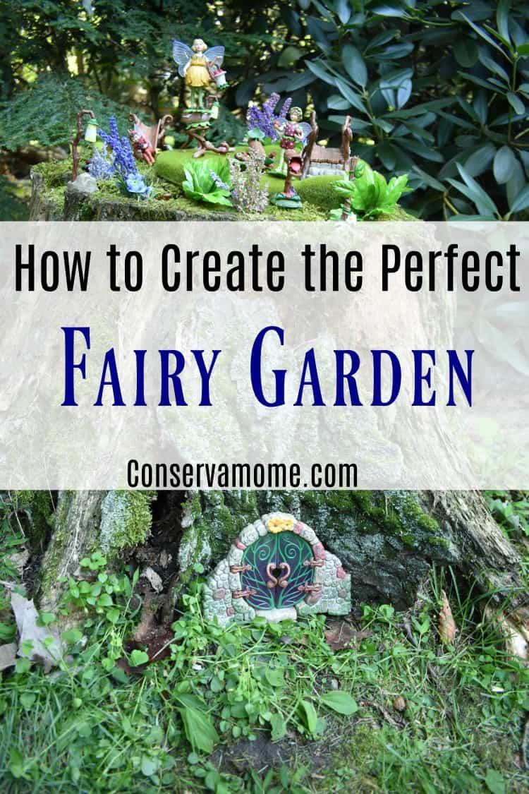Peaceably Creating Fairy Garden Just Got Find Out Tips Treatsto Create How To Create Fairy Garden Conservamom Fairy Garden Kit Fairy Garden Materials garden Natural Fairy Garden