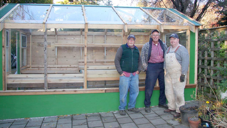 Abkhazi Garden greenhouse - 2011