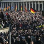Thousands march against Islam in Cologne, Germany