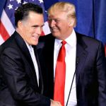 Mitt Romney praised Donald Trump as a job creator who stands up for American workers