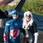 Captain America and Black Cat