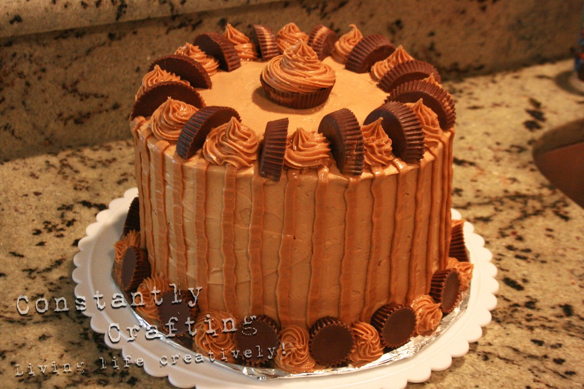 Gourmet Reese's Peanut Butter Cake