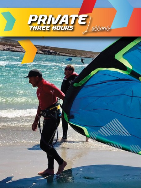 kitesurfing lessons langebaan 5 hours private