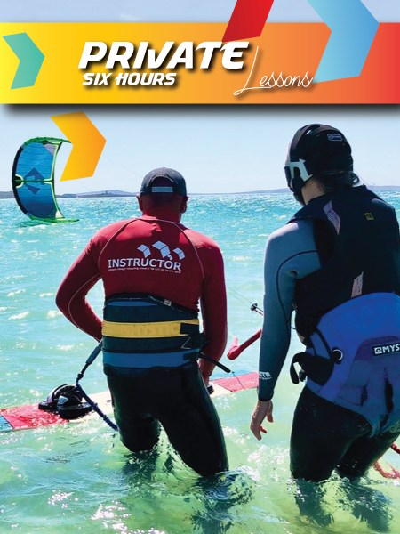 kitesurfing lessons langebaan 6 hours private