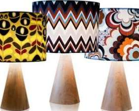 luminarias com design de superficie