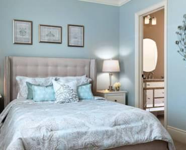 azul delicado decoracao quarto do casal