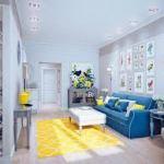 sofa azul royal na decoracao