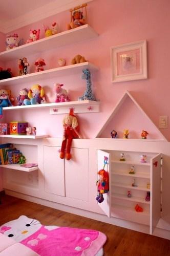 ideias de armario para os brinquedos das criancas