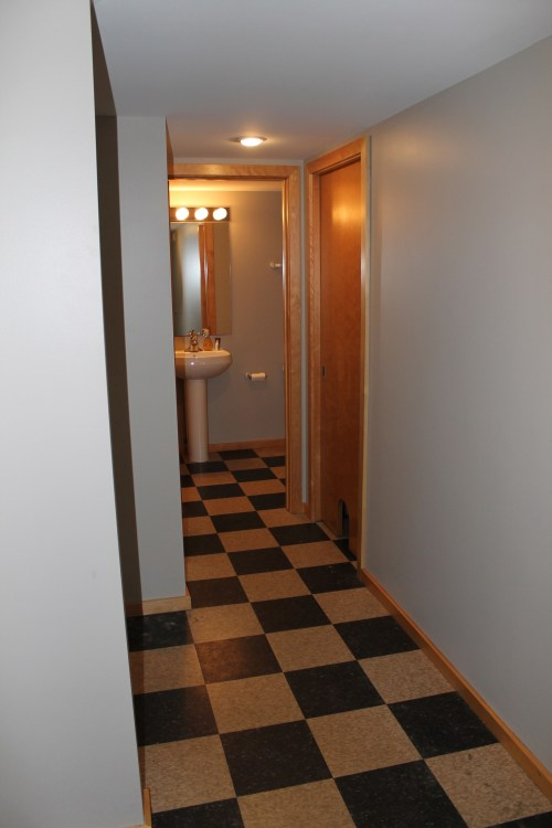 Entry Remodel Before