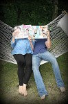 Jamie and Morgan Molitor on construction2style, baby bump photos with magazine