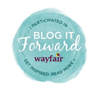 #BlogItForward with Wayfair