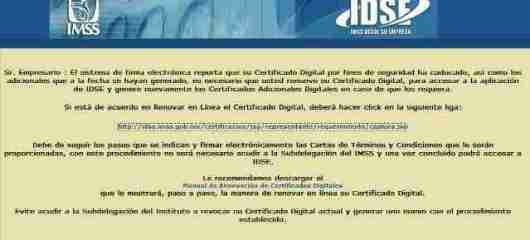 idse1 thumb Tutorial   Como Renovar Certificado IDSE