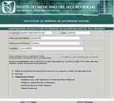 FolioNSS thumb Pre Registro del Numero de Seguridad Social en el portal del IMSS
