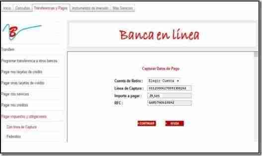 captura pago referenciado banco thumb Como realizar Pago Referenciado en Portal del Banco   Personas Fisicas y Morales