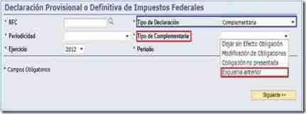 dyp sub esquema anterior thumb Presentar Pagos Provisionales del Esquema Anterior   Servicio de Declaraciones y Pagos
