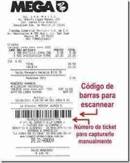 ticket codigo de barras comercial mexicana thumb Facturación Electronica Comercial Mexicana   Descarga tu Comprobante Fiscal