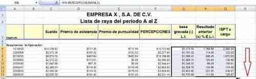 calcular ISR excel 10 thumb Como calcular el ISR por Salarios – Desde Nomina en Excel (Formula BuscarV)