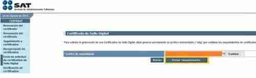 CERTISAT 4 thumb Guia para Descargar mi Certificado de Sello Digital (CSD) y emitir Facturas Electronicas CFDI