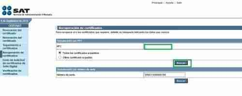 CSD CERTISAT thumb Guia para Descargar mi Certificado de Sello Digital (CSD) y emitir Facturas Electronicas CFDI