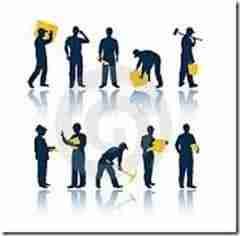 trabajadores thumb thumb Costo de Mano de Obra 2014 del IMSS   Para obra Privada, obras Publicas y Servicios Relacionados