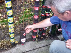 Terrific Bottle Tower How To Start Van Cotm Soda Bottle Vertical Garden