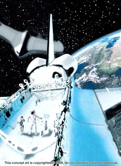 Alienígena de 3 metros entrou em nave espacial em órbita, afirma ex-funcionário da NASA