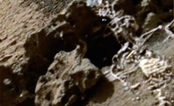Teria sido encontrado (outro) esqueleto humanoide na superfície de Marte
