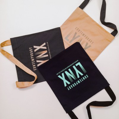 Contemporary Lynx Cotton Bag