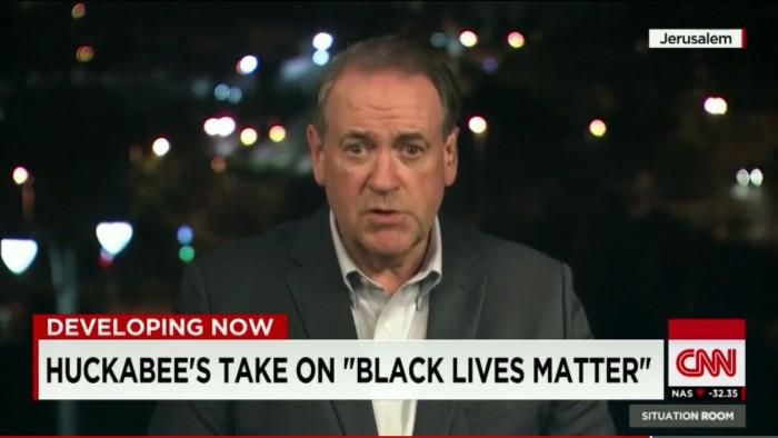 mike huckabee black lives matter