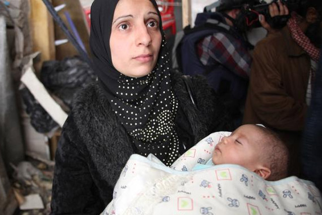 syrian mother