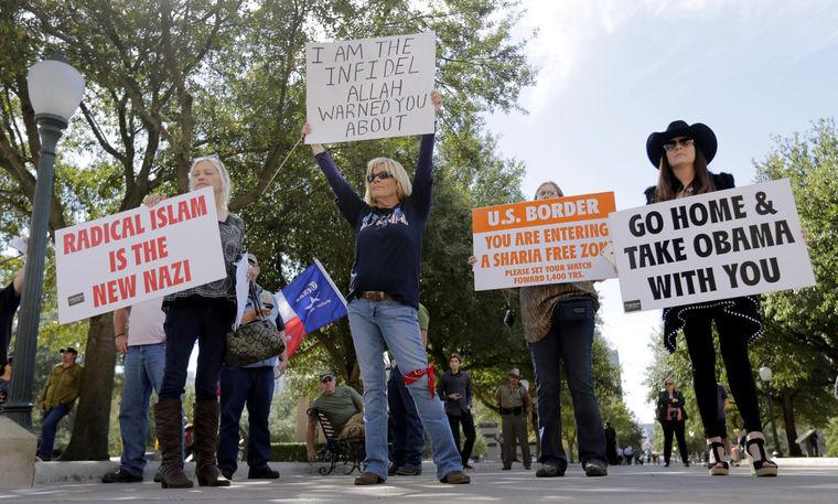anti muslim rally