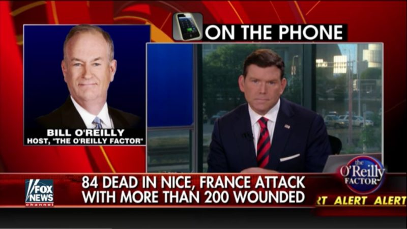 bill o'reilly call-in
