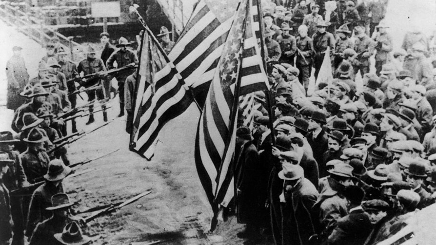 The 1912 Lawrence Textile Strike.