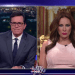 Stephen Colbert Interviews 'Melania Trump' About Billy Bush's Locker Room…