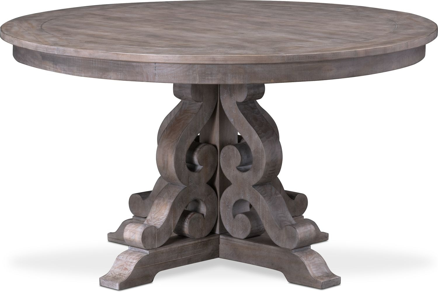 Indoor Click To Change Charthouse Round Table American Signature Furniture Round Tables Ikea Round Tables That Seat 8 houzz-02 Round Dining Tables