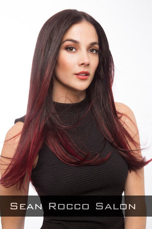 Long Haircut with Inside Layers