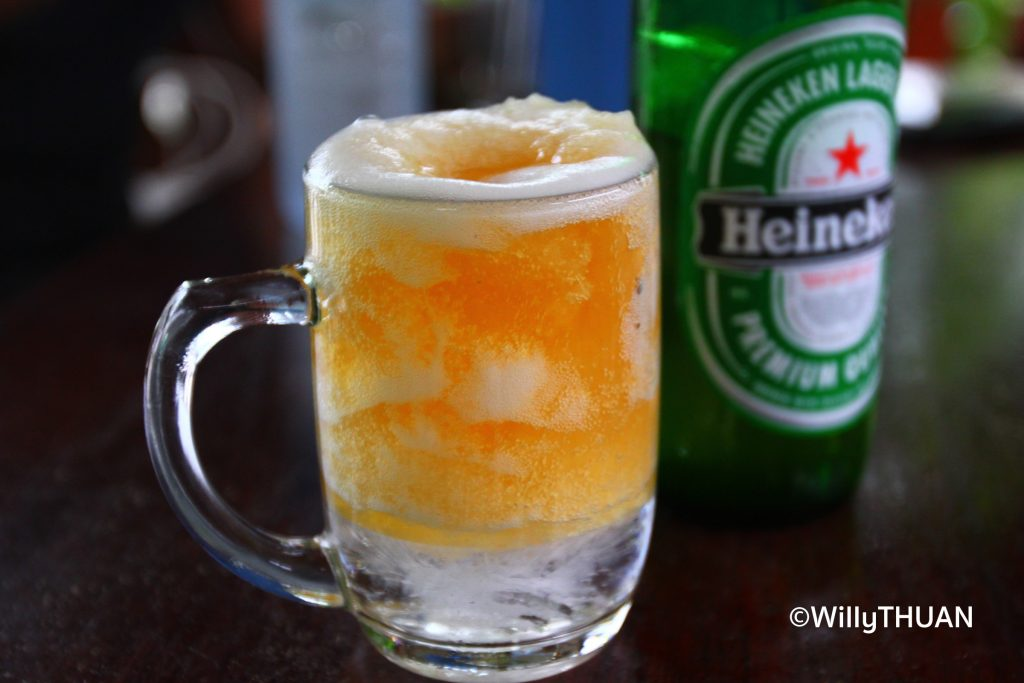Beer with Ice in Thailand