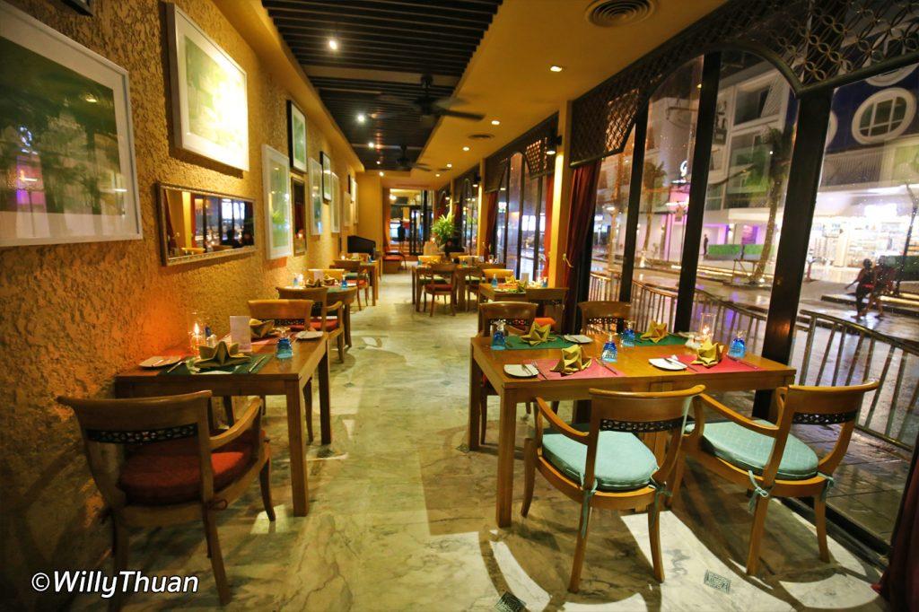 The Bistro Italian restaurant at Impiana Resort Patong