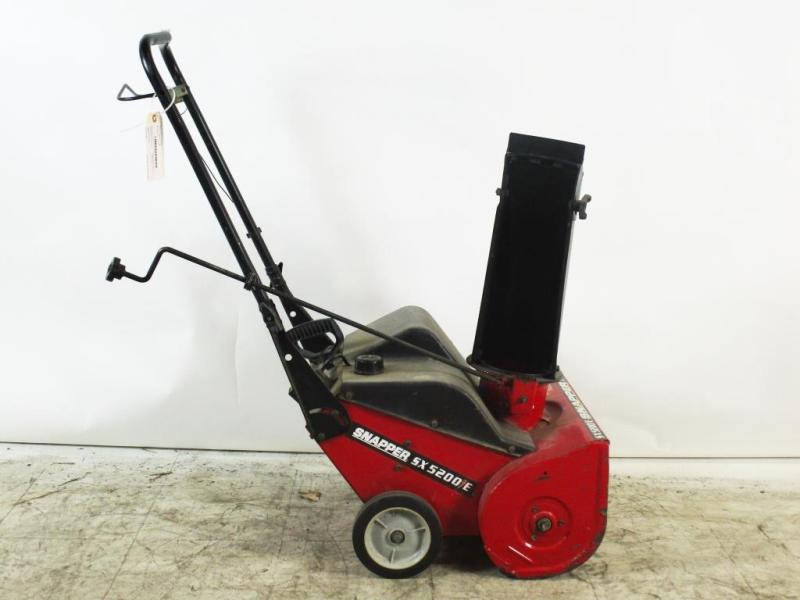 Large Of Snapper Snow Blower