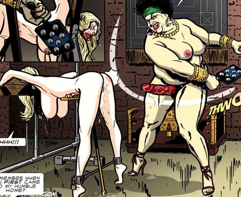 mistress and slave bdsm comics