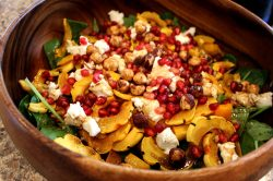Dainty Goat Cheese Goat Cheese Salad Recipe Balsamic Goat Cheese Salad Calories Roasted Squash Salad Goat Cheese Farm Fresh To You Roasted Squash Salad