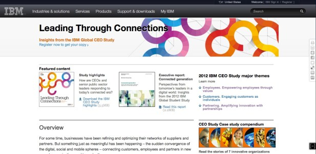 ibm global ceo study