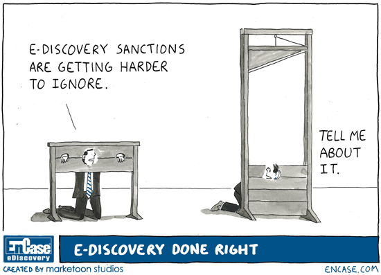ediscovery cartoon