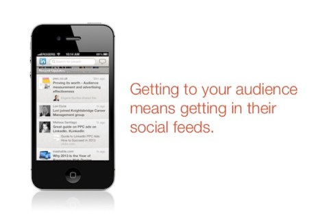 audience social feeds