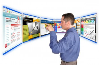 man testing pages online-content optimization