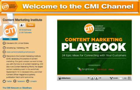 welcome to the cmi channel